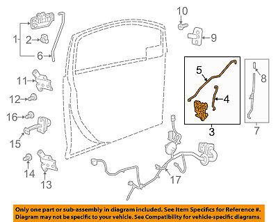 Chevrolet GM OEM 13-15 Spark Front Door-Lock Actuator Motor 94543219