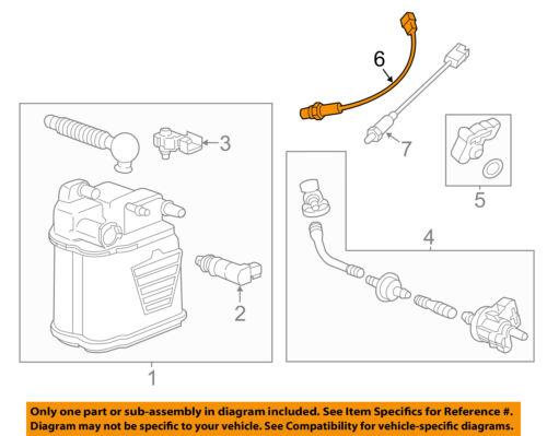 GM OEM-Oxygen O2 Sensor 12597947 Parts & Accessories Car & Truck ...