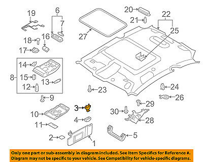 AUDI OEM 13-17 Q5 Interior-Roof-Bracket 8W0857562AEP5