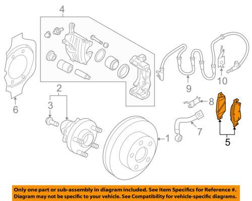 Infiniti NISSAN OEM 10-13 FX50 Brake-Front Pads D1060JL00K   eBayeBay