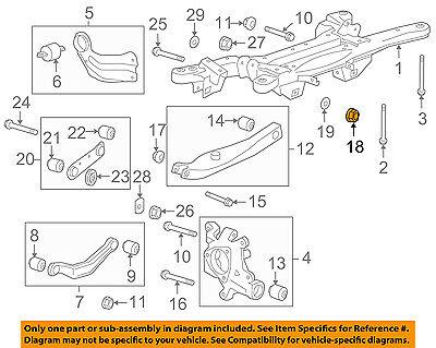 GM OEM Front Suspension-Strut Nut 11546593