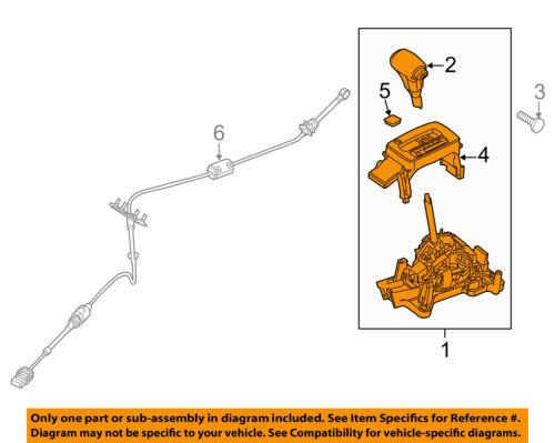 Lincoln FORD OEM 07-09 MKZ Transmission-Gear Shifter Shift 7H6Z7210P   eBayeBay