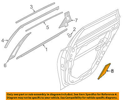 KIA OEM 16-18 Optima Exterior-Rear-Stone Guard Right 84127D4000