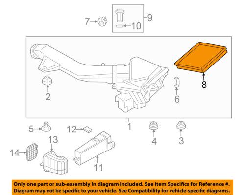 BMW OEM 12-15 335i Engine-Air Cleaner Filter Element 13717602643 | eBayeBay