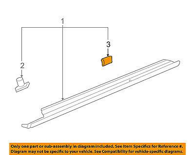 GM OEM Exterior-Rocker Molding Retainer 11561329