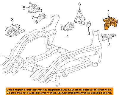 Chevrolet GM OEM 11-15 Cruze-Engine Motor Mount/Torque Strut 13347453