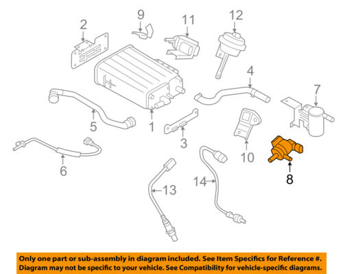 KIA OEM 11-17 Sorento-Vapor Canister Purge Valve 289103C200