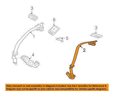 FORD OEM Rear Seat Belt-Center Middle 9E5Z54611B66AC