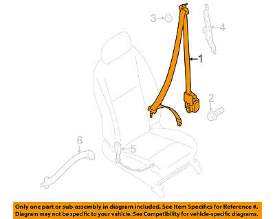 Chevrolet GM OEM 15-18 City Express Front-Seat Belt Assembly Right 19317932
