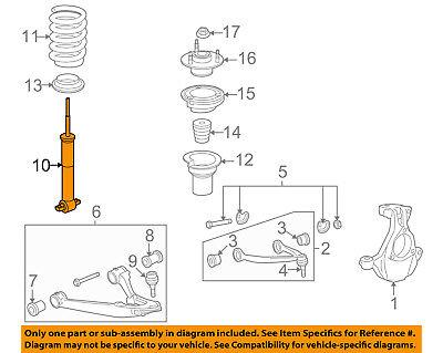 GM OEM Front Suspension-Strut 20765196