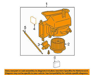 TOYOTA OEM 00-03 Solara HVAC-Blower Assembly 8713006070