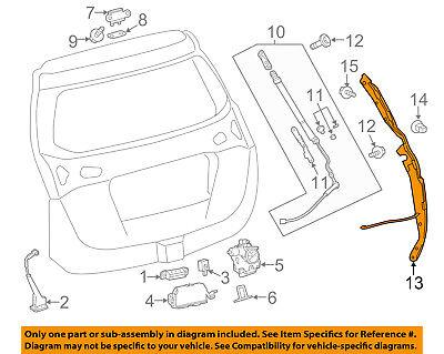 TOYOTA OEM 13-15 RAV4 Liftgate Tail Tailgate Trunk-Sensor 8428042010