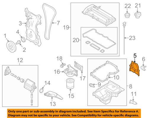 WOLFIGO Front Main Crankshaft Oil Seal Wear Sleeve Set for Dodge Cummins 5.9L 6.7L 1989-2015 3802820