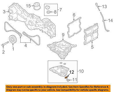SUBARU OEM 93-14 Impreza Engine Parts-Drain Plug Gasket 11126AA000
