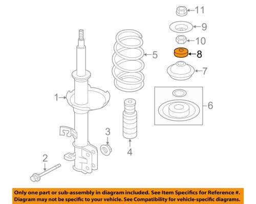543251HA0A Genuine Nissan BEARING-STRUT MOUNTING 54325-1HA0A
