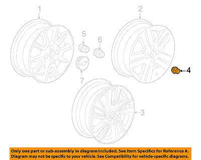 Chevrolet GM OEM 13-15 Spark Wheel-Lug Nut 95218113