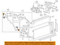 GM OEM A//C AC Condenser//Compressor//Line-Ac Tube Seal 52477087