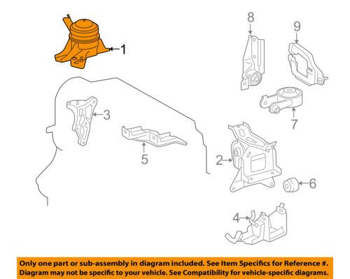 [DIAGRAM_4PO]  TOYOTA OEM 07-15 Yaris-Engine Motor Mount Torque Strut 1230521220 | eBay | 2007 Toyota Yaris Engine Diagram |  | eBay