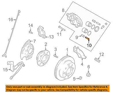 CHRYSLER OEM Brake-Front-Caliper Sleeve -
