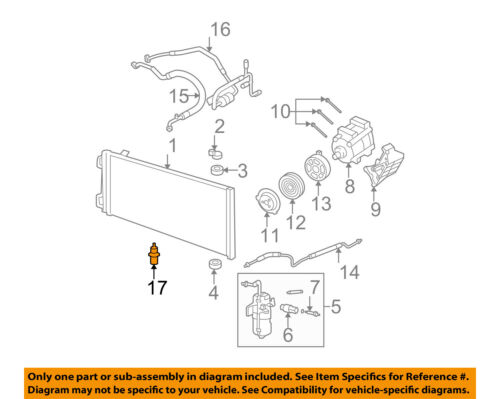 Ford Oemoutside Air Ambient Temperature Sensor Ae5z12a647a Ebay. Seller Payment Information. Ford. Ambient Temp 2 3l Ford Engine Diagram At Scoala.co