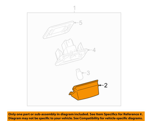 PartsChannel TO2805127R OE Replacement Tail Light Assembly