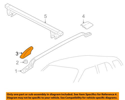 chevrolet gm oem roof rack rail luggage carrier front. Black Bedroom Furniture Sets. Home Design Ideas