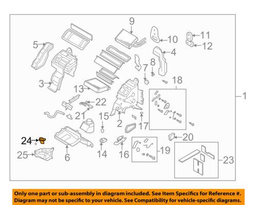MAZDA OEM 09-12 CX-7 Blower Motor-Resistor EG2261B15