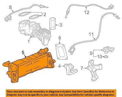 GM OEM EGR System-Cooler 12656036