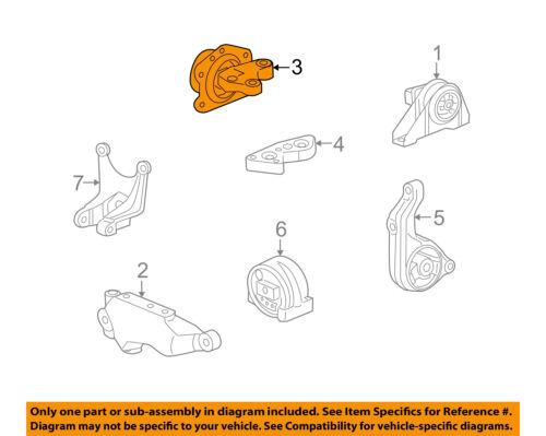 Details About Saturn GM OEM Vue Engine Motor Transmission Upper Transmission Mount 15239920