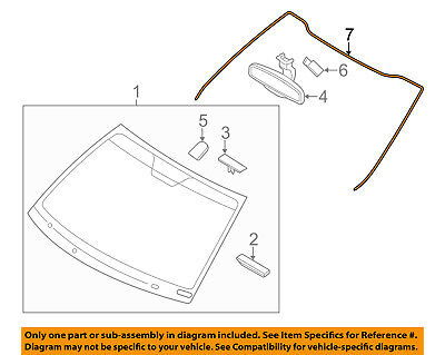 KIA OEM 11-16 Optima Windshield-Reveal Molding 861302T000