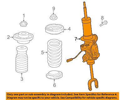 BMW OEM 13-15 760Li Front Suspension-Strut 37116863147