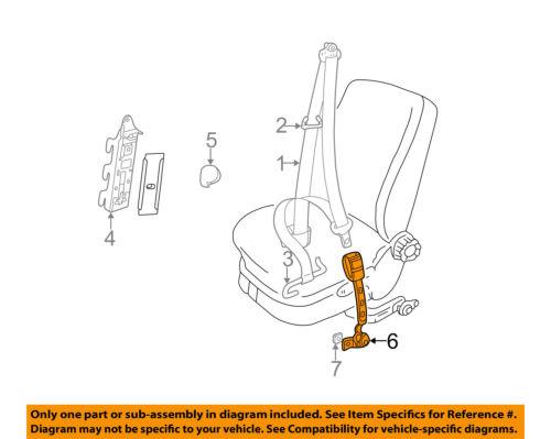 Vw Volkswagen Oem 02 09 Beetle Front Seat Belt Buckle Left 1y1858471gfcn Ebay