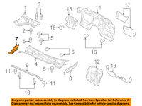 GMC GM OEM Terrain Cowl-Grille Panel Windshield Wiper Cover Side Left 20897361