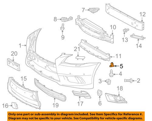 NEW GENUINE OEM 07-17 LEXUS TOYOTA FRONT//REAR BUMPER RETAINER CLIPS Set of 5