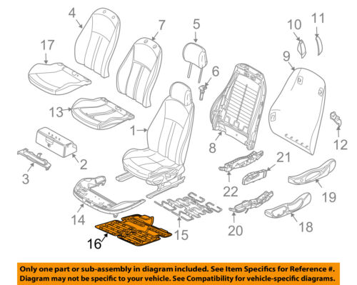 Details about BMW OEM 2003 Z4 Airbag Air Bag-Penger Seat Occupancy on