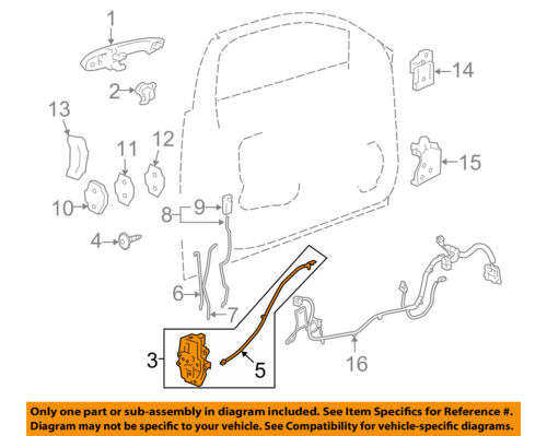 2008 impala door lock actuator wiring diagram chevrolet gm oem 08 11 impala front door lock actuator motor  impala front door lock actuator motor