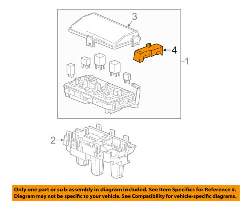 GM OEM Electrical-Side Cover 13222785