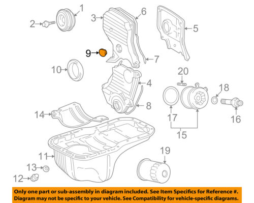 Details about TOYOTA OEM 92-01 Camry Engine Parts-Timing Cover Plug on 1992 camry engine diagram, transmission engine diagram, 92 camry blower motor, 96 camry engine diagram, 92 camry dash lights, 92 camry door lock, 92 camry shift solenoid, 94 camry engine diagram, fuel pump engine diagram,