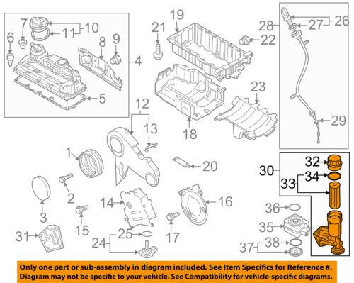 [DVZP_7254]   VW VOLKSWAGEN OEM 09-14 Jetta Engine-Oil Filter Housing 045115389H   eBay   09 Jetta Engine Diagram      eBay