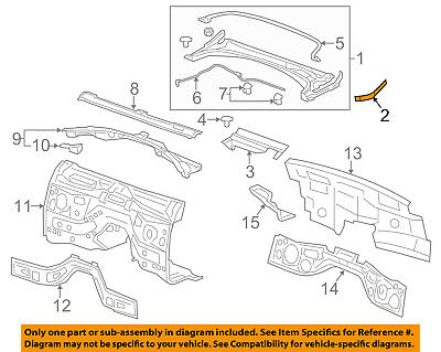 Cadillac GM OEM 13-18 ATS Cowl-End Filler Right 23487940