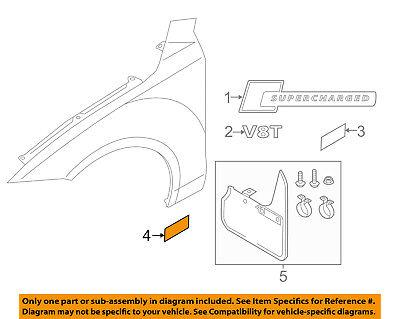 AUDI OEM 12-17 A7 Quattro Fender-Stone Guard Left 4G8890905