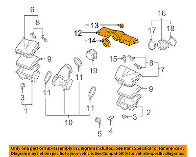 Cadillac GM OEM 04-09 XLR 4.6L-V8 Air Cleaner-Resonator 15927875