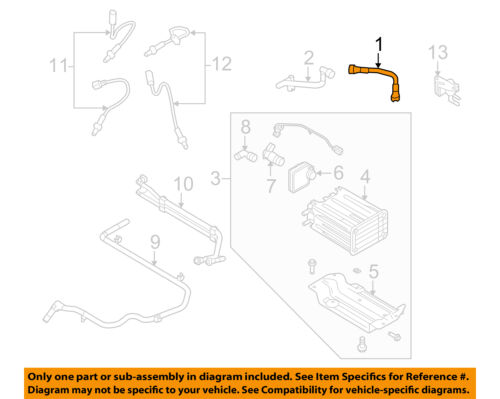FORD OEM 08-13 E-350 Super Duty 6.8L-V10 Emission-Tube Assembly 4C2Z6758AA