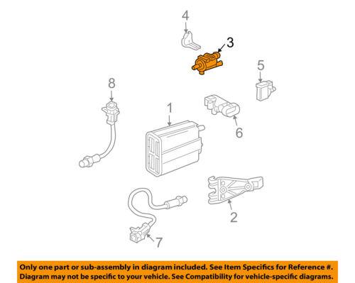 Steam Filter Purge Valve for GM Models 97-05 1997278 Broco Vapor Canister Purge Valve