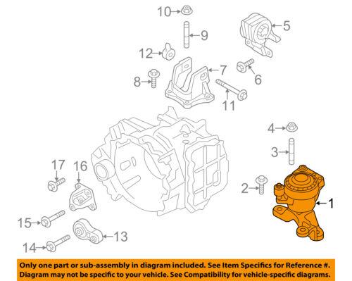 Genuine Ford Motor Mount CT4Z-6038-C
