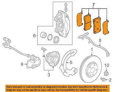GM OEM Brake-Front Pads 23441307
