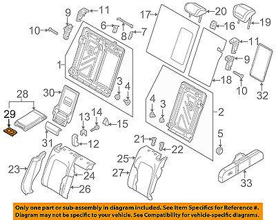 AUDI OEM 07-15 Q7 Rear Seat-Cup Holder 8P0885995B6PS