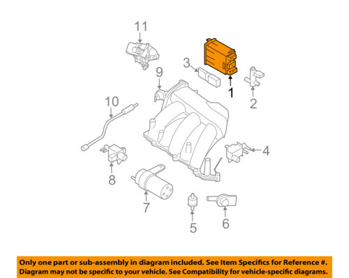 Carbon Canister 2009-2015 Nissan Murano Compatible with 2003-2007