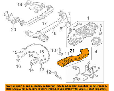 AUDI OEM 13-16 Q5 Electrical-Outlet Duct 8R0863149A