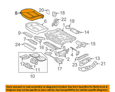 BMW OEM 06-10 M5 Front Seat-Seat Cover-Lower 52107249492